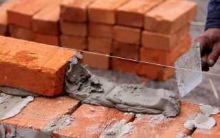 Как рассчитать количество цемента для кладки кирпича
