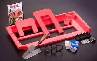 Приспособление для кладки кирпича: обзор самых популярных