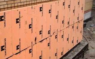 Крепление пеноплекса к кирпичной стене