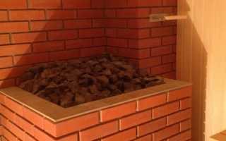 Как обложить металлическую печь кирпичом в бане: правильная обкладка железного котла