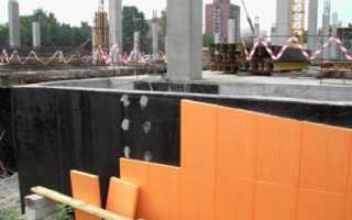 Как правильно произвести крепление пеноплекса к бетонной стене