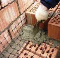 Секреты укрепления кирпичной и блочной кладки стен армирующей сеткой