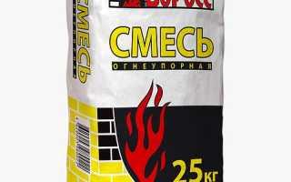 Огнеупорно-кладочная смесь (25 кг) (Боровичи)