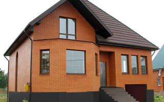 Отделка кирпичных фасадов: популярные варианты и особенности