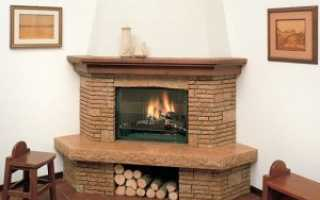 Варианты отделки печей и каминов в доме: плитка, камень или кирпич