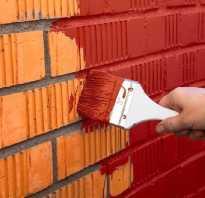 Как красиво покрасить внутри и снаружи дома кирпичные стены своими руками: подготовка под покраску, какой краской красить