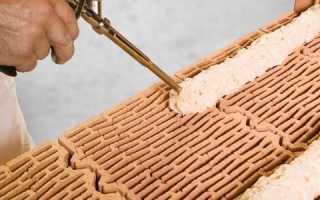 Можно ли делать кладку кирпича на клей