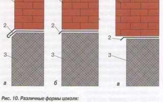 Строительство и ремонт цоколя дома и здания