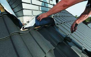 Как сделать отделку трубы на крыше – варианты обшивки