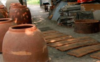 Делаем тандыр из глины или кирпича своими руками