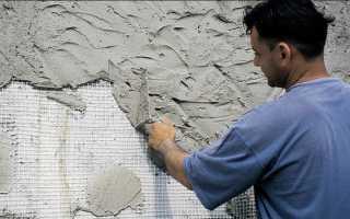 Штукатурку, какой толщины нужно наносить при отделке фасада