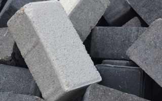 Кирпич бетонный в Екатеринбурге
