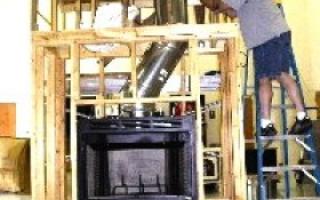 Устройство дымохода для камина: общие положения монтаж на примере стального варианта