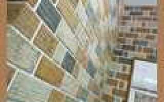 Декоративный кирпич из гипсокартона