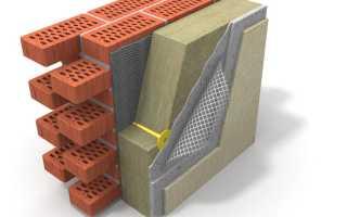 Выбор теплоизоляции и способы наружного утепления кирпичного здания
