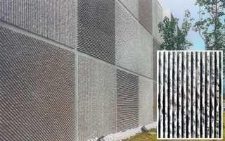 Бетонные панели для отделки внешних стен дома