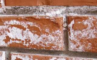 Удаление высолов — как убрать высолы