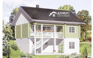 Комбинированные дома из кирпича и бруса