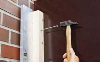 Как прикрепить деревянный брус к стене из бетона, кирпича, газоблока, дерева и гипсокартона