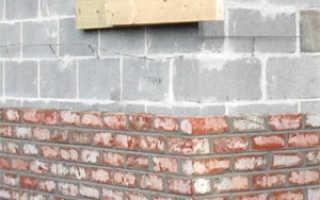 Облицовка стен кирпичом: три способа кладки