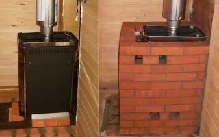 Как обложить печь в бане кирпичом – руководство по облицовке печи