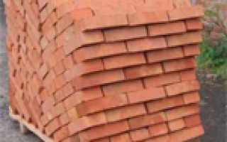 Количество кирпичей в квадратном метре