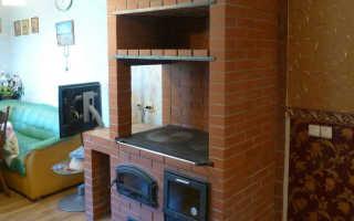 Как построить печь шведку с плитой – теория и практика