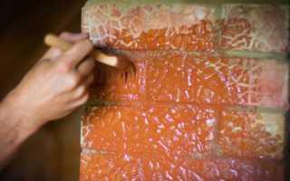 Как и чем покрасить кирпичную печь