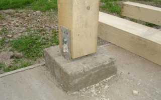 Как прикрепить брус к бетонной стене: этапы работ