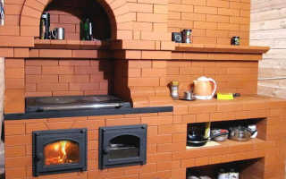 Как сложить отопительно варочную печь из кирпича – пошаговая инструкция