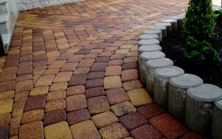 Разновидности кладки брусчатки и тротуарной плитки