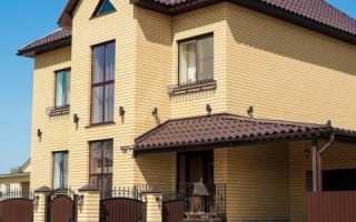 Желтый кирпичный дом