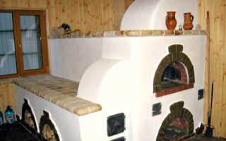 Инструкция по применению штукатурки для печей