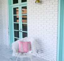 5 методов покраски кирпичной стены на балконе