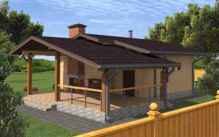 Проекты одноэтажных кирпичных домов