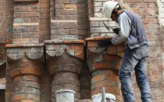 Реставрация кладки кирпича