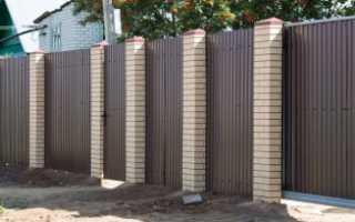 Панели Имитация Кирпичного Столба на забор