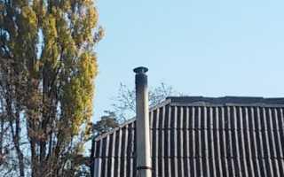 Выбираем и устанавливаем дефлектор (оголовок) на дымовую трубу
