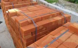 Вес кирпича в кубе (1 м3)