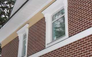 Использование облицовочного кирпича для фасада: показать варианты отделки