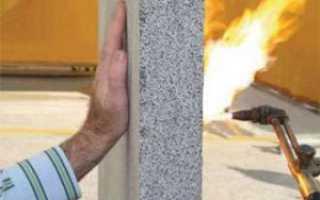 Огнестойкость кирпичной стены и ее пределы