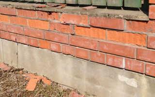 Как защитить кирпич от разрушения