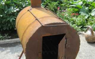 Печка буржуйка: отопление своими руками