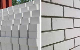 Свойства и размеры белых силикатных кирпичей