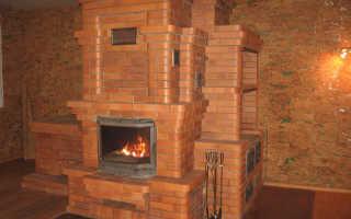 Как сделать камин печь для дома из кирпича — инструкция