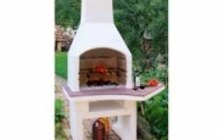 Садовые печи барбекю и мангалы из кирпича