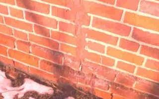 Способы и порядок заделки трещин в кирпичных стенах