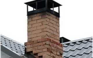 Печная труба на крыше и ее устройство