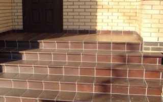 Как выложить ступеньки из кирпича