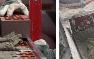 Сколько цемента расходуется на кубометр кладки кирпичных стен